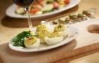Яйца со сливками и шнит-луком