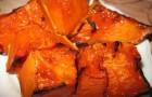 Запеченная зимняя тыква с кленовым сиропом и бальзамическим уксусом