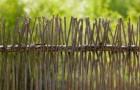 Деревенская ограда