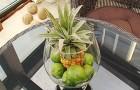 Композиция с ананасами