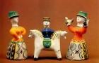 Роспись каргопольской игрушки
