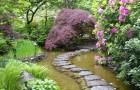 Бегущая вода в саду
