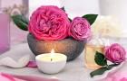 Лосьон с лепестками розы