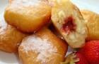 Берлинские пончики со сладкой начинкой