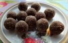 Орехово-шоколадные конфеты