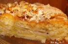 Орехово-яблочный торт