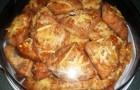 Слоеное сырное печенье