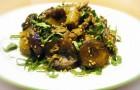 Баклажаны, тушенные с грибами
