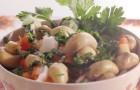 Холодное блюдо с грибами
