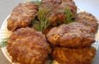 Котлеты из шампиньонов с картофелем