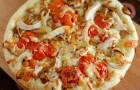 Пицца грибная «на скорую руку»