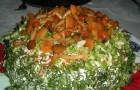 Сборный салат с грибами