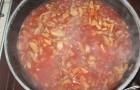 Соус грибной с томатом