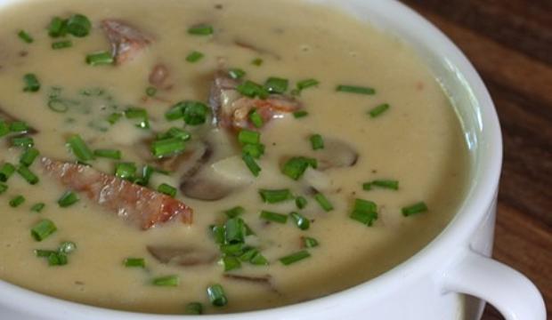 Суп из грибов со сливками