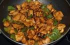 Сушеные грибы, жаренные с луком