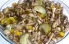 Грибной салат по-карельски