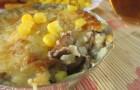 Салаты, жюльены и другие грибные закуски