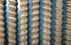 Витая колонна с накладным орнаментом