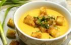 Суп-пюре из желтого гороха