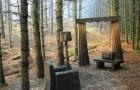 Скульптурные тропы лесного парка Грайздейла