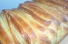 Апельсиновый хлеб с семечками подсолнуха в хлебопечке