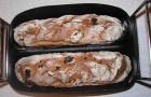 Багет с изюмом в хлебопечке