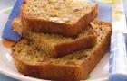 Банановый кекс в хлебопечке