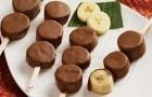 Бананы в шоколаде в пароварке