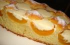 Бисквиты с персиками в пароварке