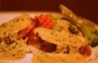 Филе индейки с чесночным соусом в скороварке
