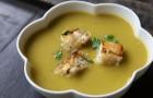 Гороховый суп-пюре с индейкой и картофелем в скороварке