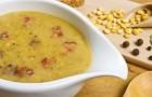 Гороховый суп с курицей в скороварке