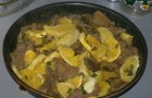 Говядина с апельсинами в скороварке