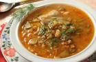 Грибной суп «Оливка» в скороварке