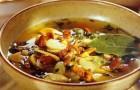 Грибной суп с репой в скороварке