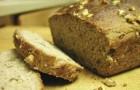 Хлеб с медом и орехами в хлебопечке