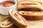 Хлеб с пепперони в хлебопечке