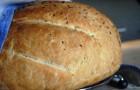 Хлеб с тмином в хлебопечке