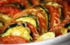 Кабачки с сыром и томатами в мультиварке