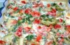 Кабачки со сливками в скороварке