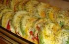 Кабачки, запеченные с сыром в аэрогриле