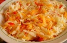 Капуста кольраби с морковью в аэрогриле