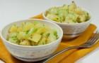 Картофель с сельдереем в скороварке