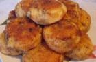 Картофельные котлеты с черносливом в пароварке
