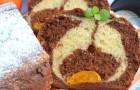 Кекс с какао и мандаринами в хлебопечке
