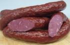 Колбаски из говядины в скороварке