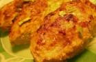 Котлеты из курицы с мандаринами в пароварке