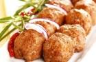 Котлеты куриные с орехами в пароварке