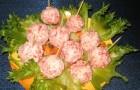 Крабовые шарики в пароварке