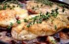 Курица в винном соусе в аэрогриле